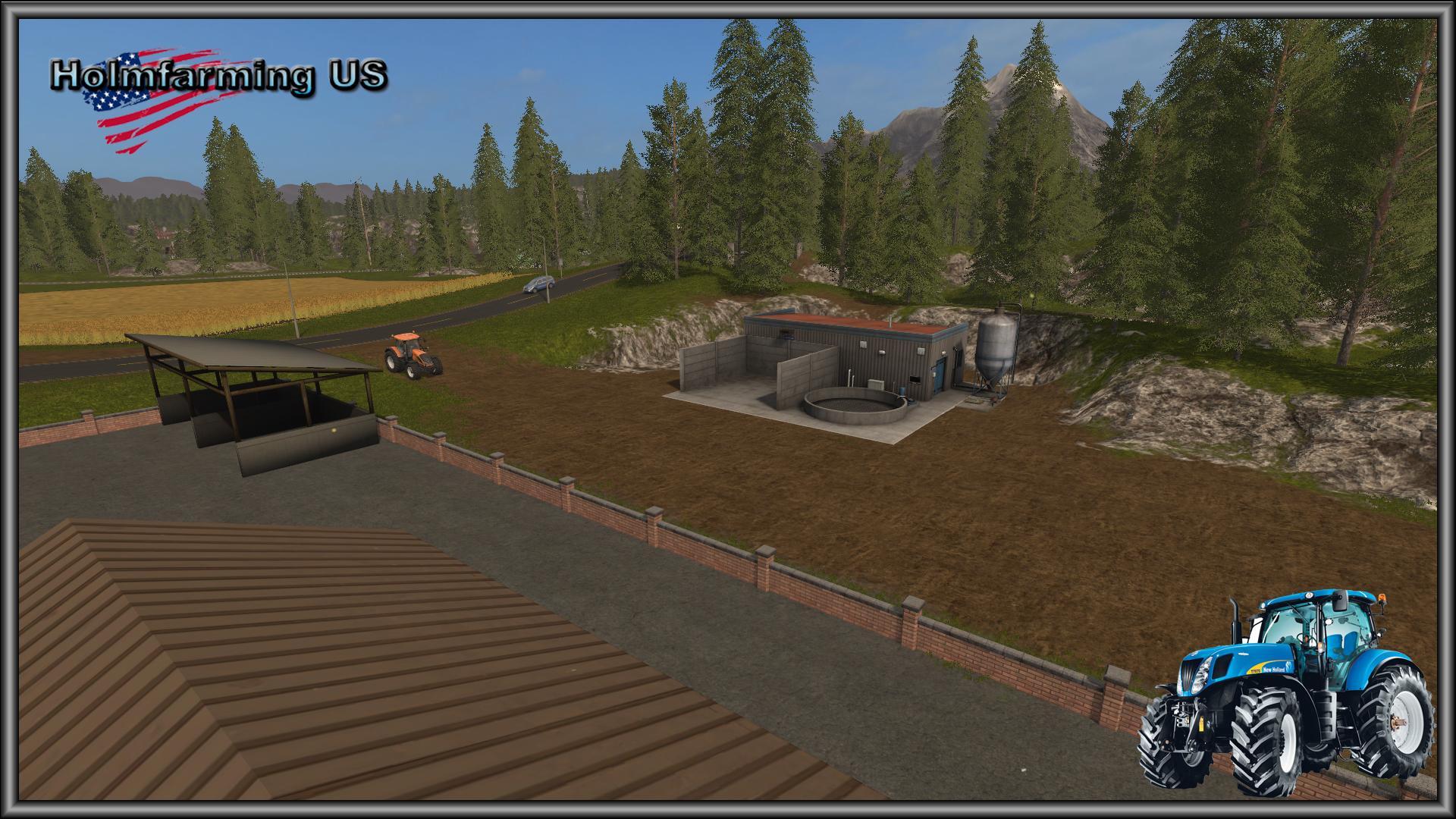 HOLMFARMING US MAP V FS Farming Simulator Mod FS - Us map mod fs 17