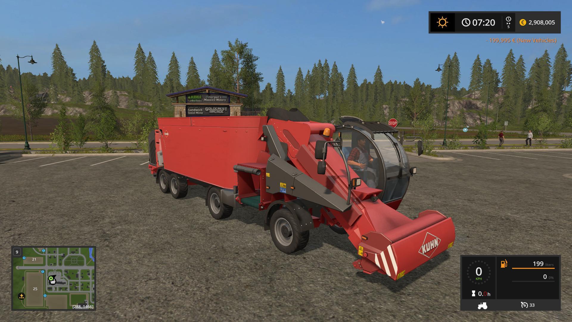 Kuhn Spvxxl V1 0 Fs17 Farming Simulator 17 Mod Fs 2017 Mod