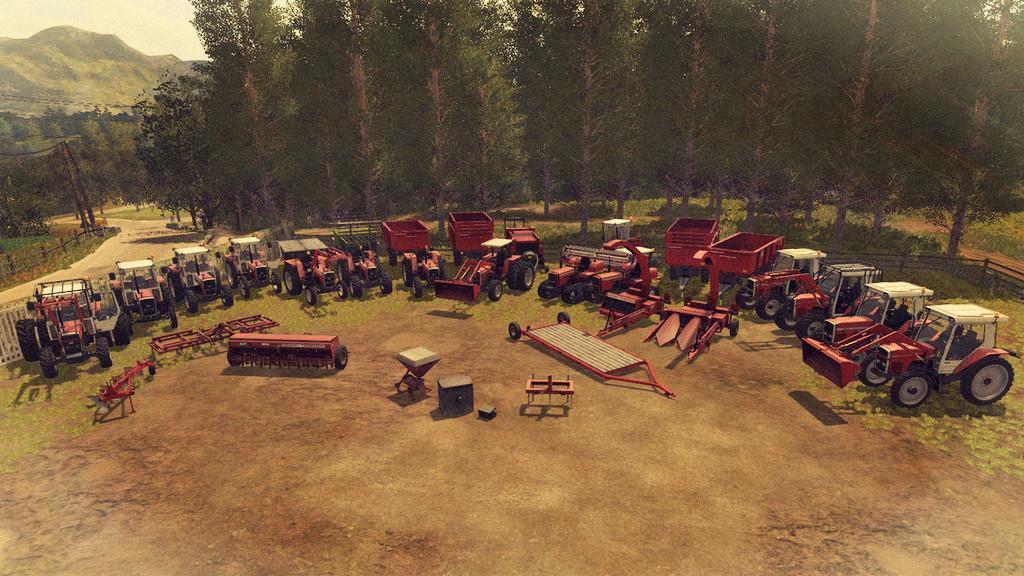 MF OLD GENERATION 1970-1990 V1 0 0 0 FS17 - Farming Simulator 17 mod