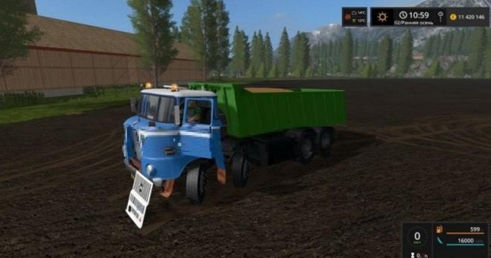 Ifa W50 4 215 4 V 0 9 Fs17 Farming Simulator 17 Mod Fs