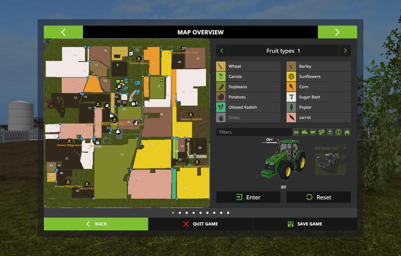 MidWest USA V 2 0 Multifruit FS17 - Farming Simulator 17 mod