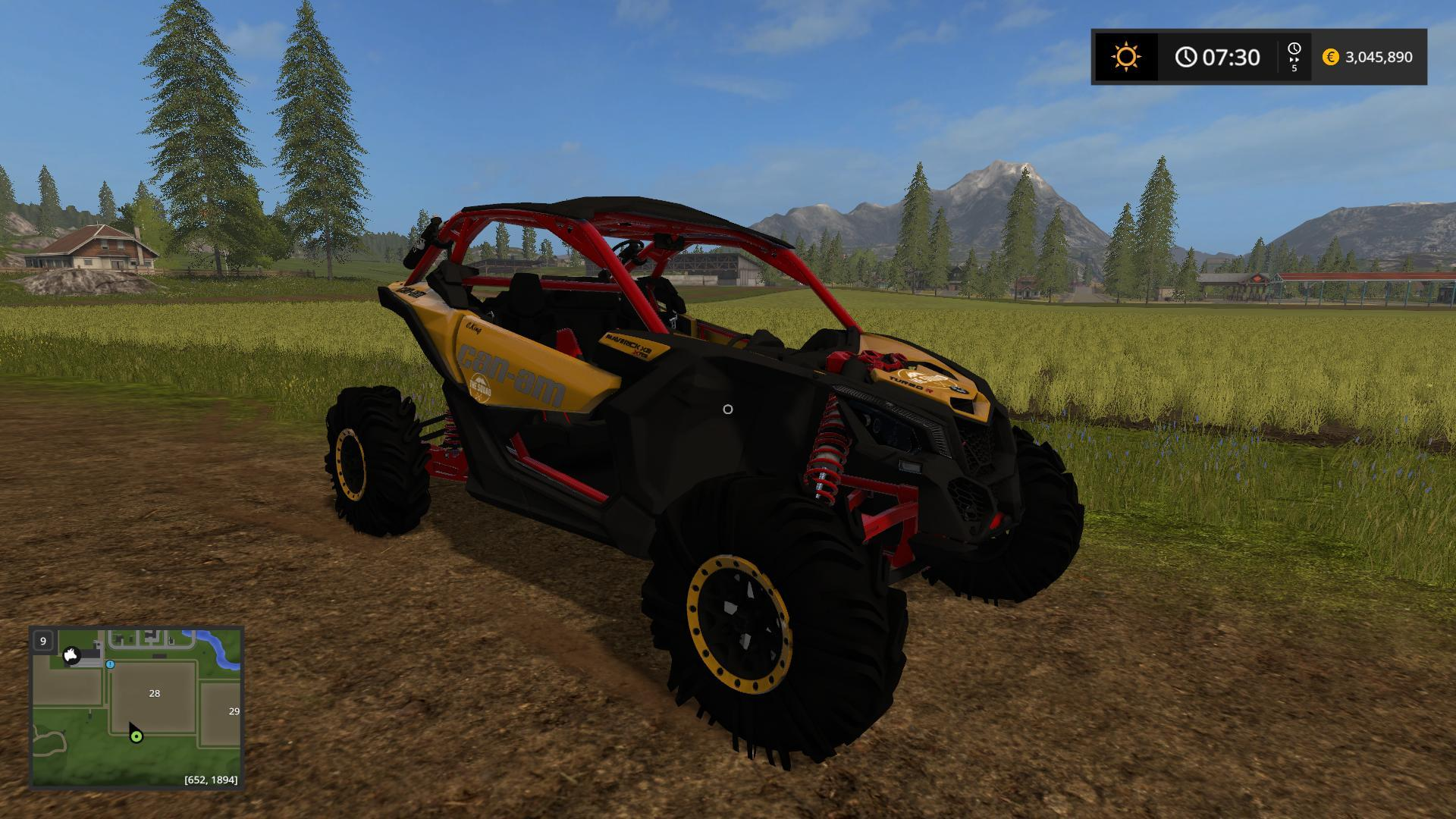 CANAM MAVRIC SQUAD EDITION V3 0 FS17 - Farming Simulator 17