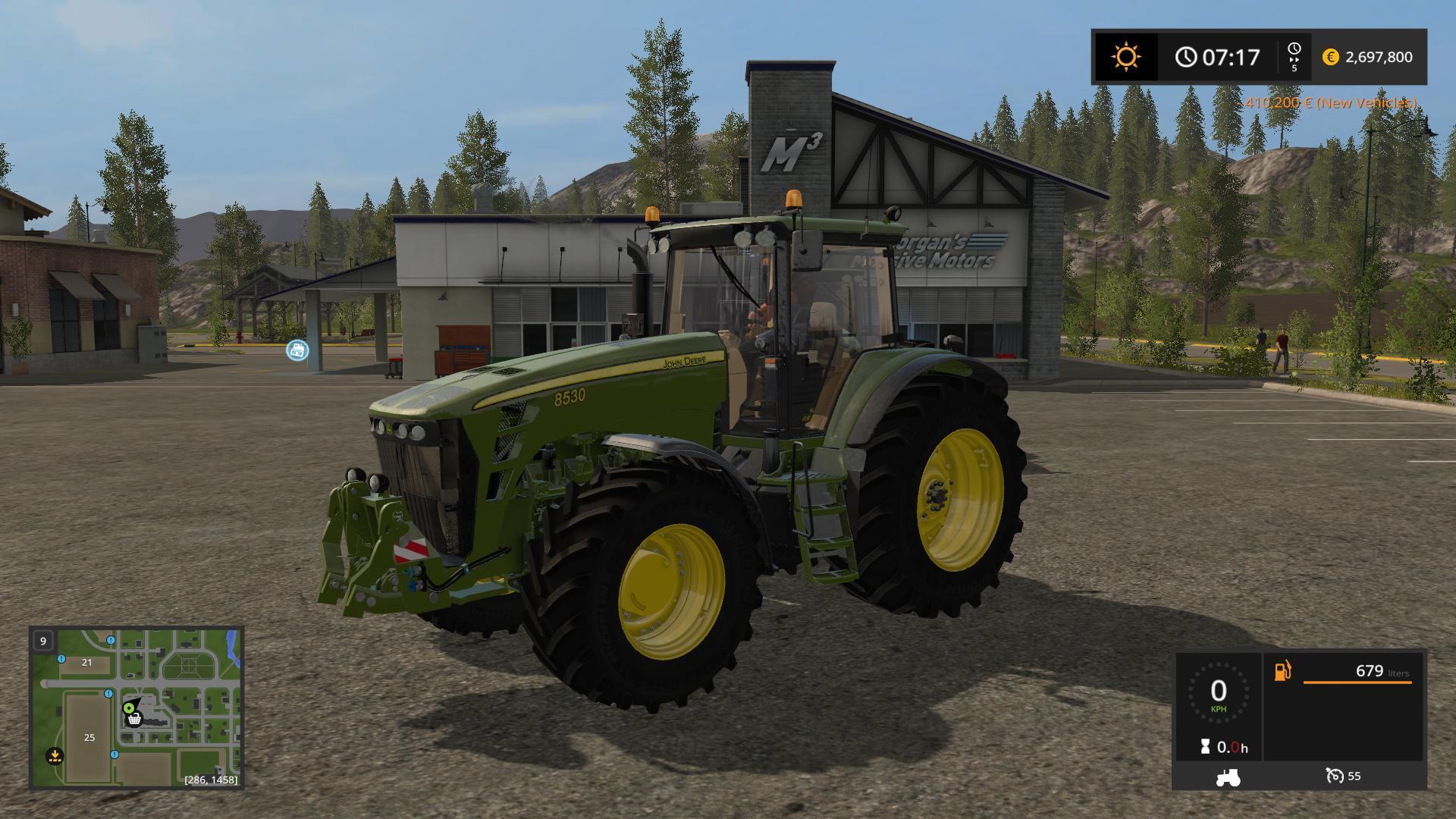 John Deere 8530 Bd V10 Fs17 Farming Simulator 17 Mod Fs 2017 Mod
