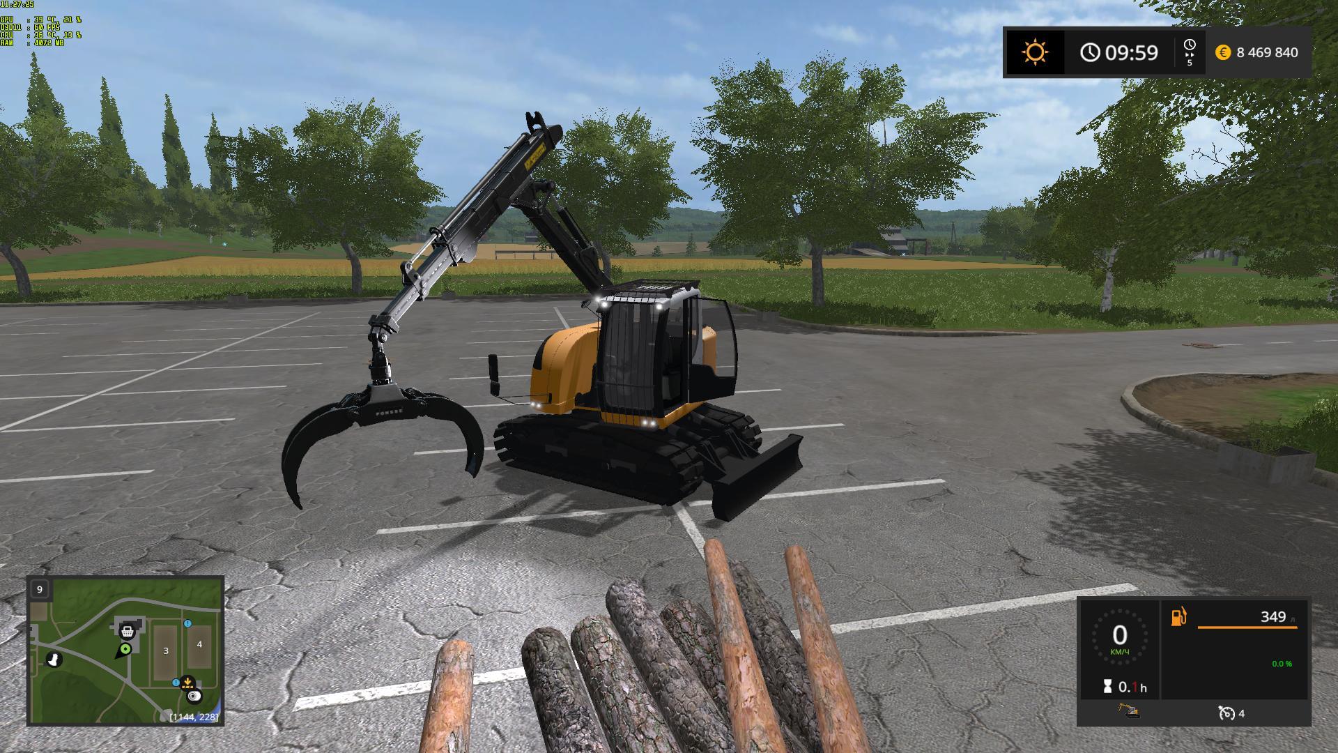 Liebherr 914cf Ls17 V1 1 Fs17 Farming Simulator 17 Mod