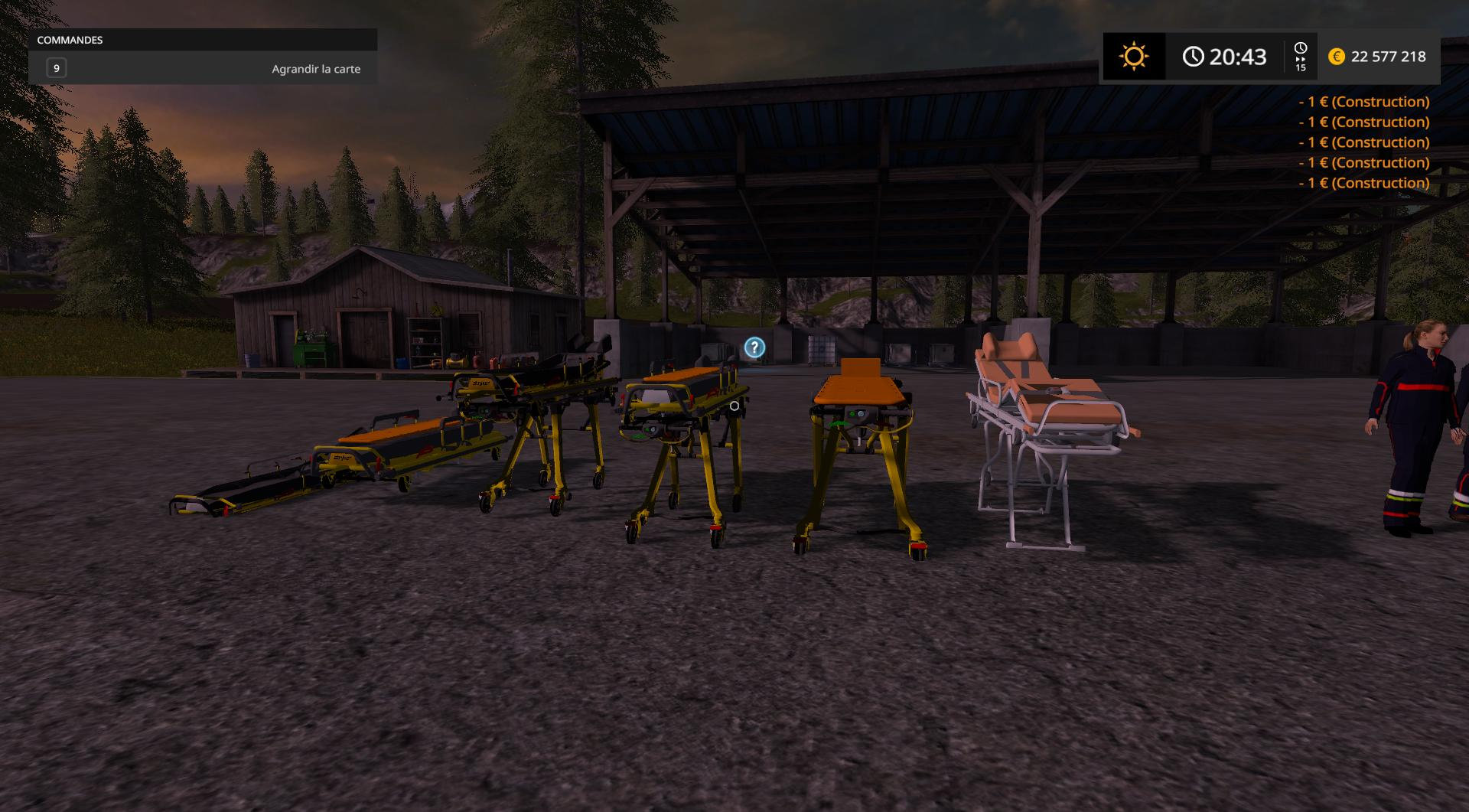 Pack personnages v2 0 fs17 farming simulator 17 mod fs for Pack travaux