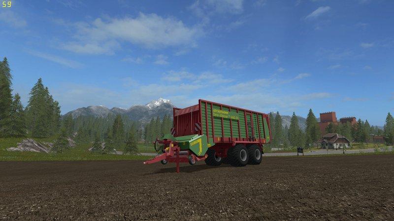 STRAUTMANN TERA VITESSE 4601 - DH FS17 - Farming Simulator