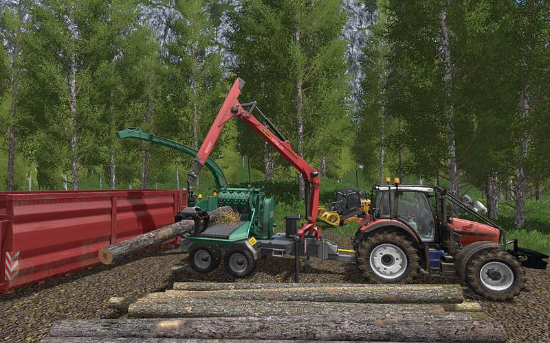 Same Fortis Forestry Edition V 1 0 0 0 FS17 - Farming Simulator 17