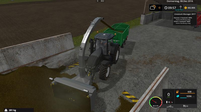 Silage cutter V 3 1 FS17 - Farming Simulator 17 mod / FS