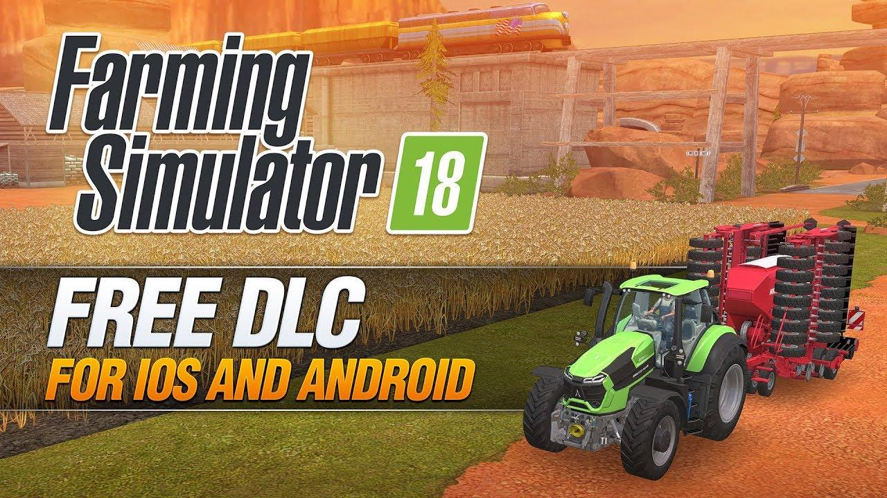 FARMING SIMULATOR 18 MOBILE + FREE DLC - Farming Simulator