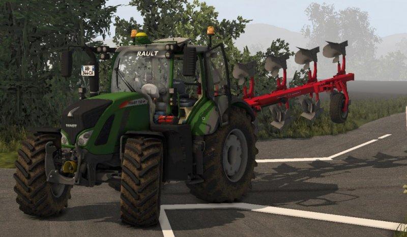 Fendt Vario 700 Tractor Fs17 Farming Simulator 17 Mod