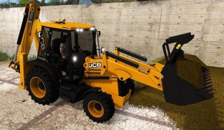JCB 3CX FS17 - Farming Simulator 17 mod / FS 2017 mod