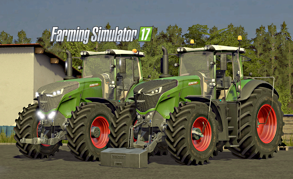 FENDT 1000 VARIO SERIES V2 FULL EDITION FS17 - Farming Simulator 17