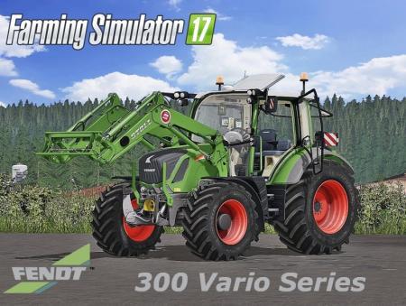 Fendt 300 Vario Full Pack Fs17 Farming Simulator 17 Mod