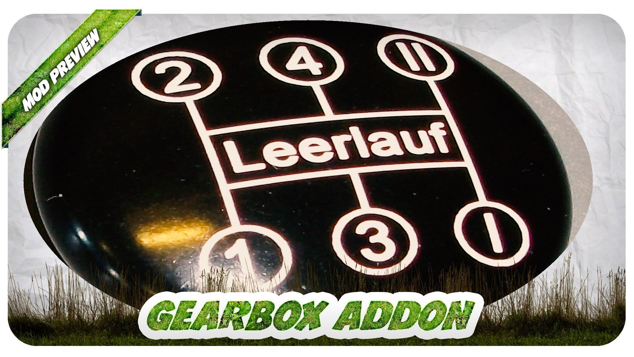 GEARBOX ADDON V1 5 FIXED EDITION FS17 - Farming Simulator 17