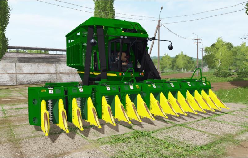 JOHN DEERE 9950 V1 0 FS17 - Farming Simulator 17 mod / FS 2017 mod
