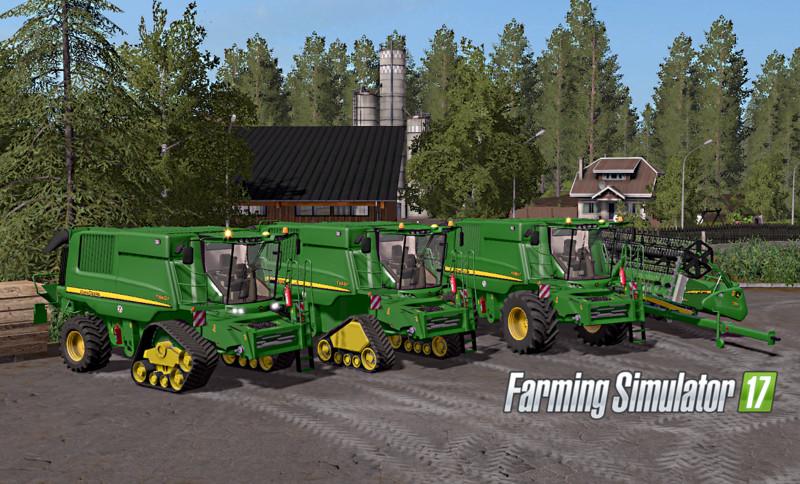 Tracks For Vehicles >> John Deere T660i/670i V 3.0 FS17 - Farming Simulator 17 mod / FS 2017 mod