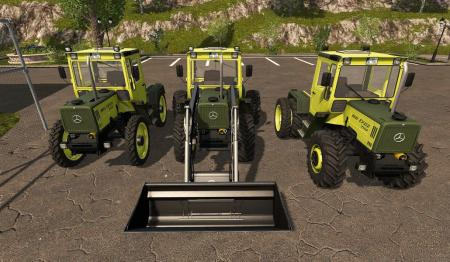 MB TRAC 700-900 - DH 2 2 0 0 FS17 - Farming Simulator 17 mod / FS