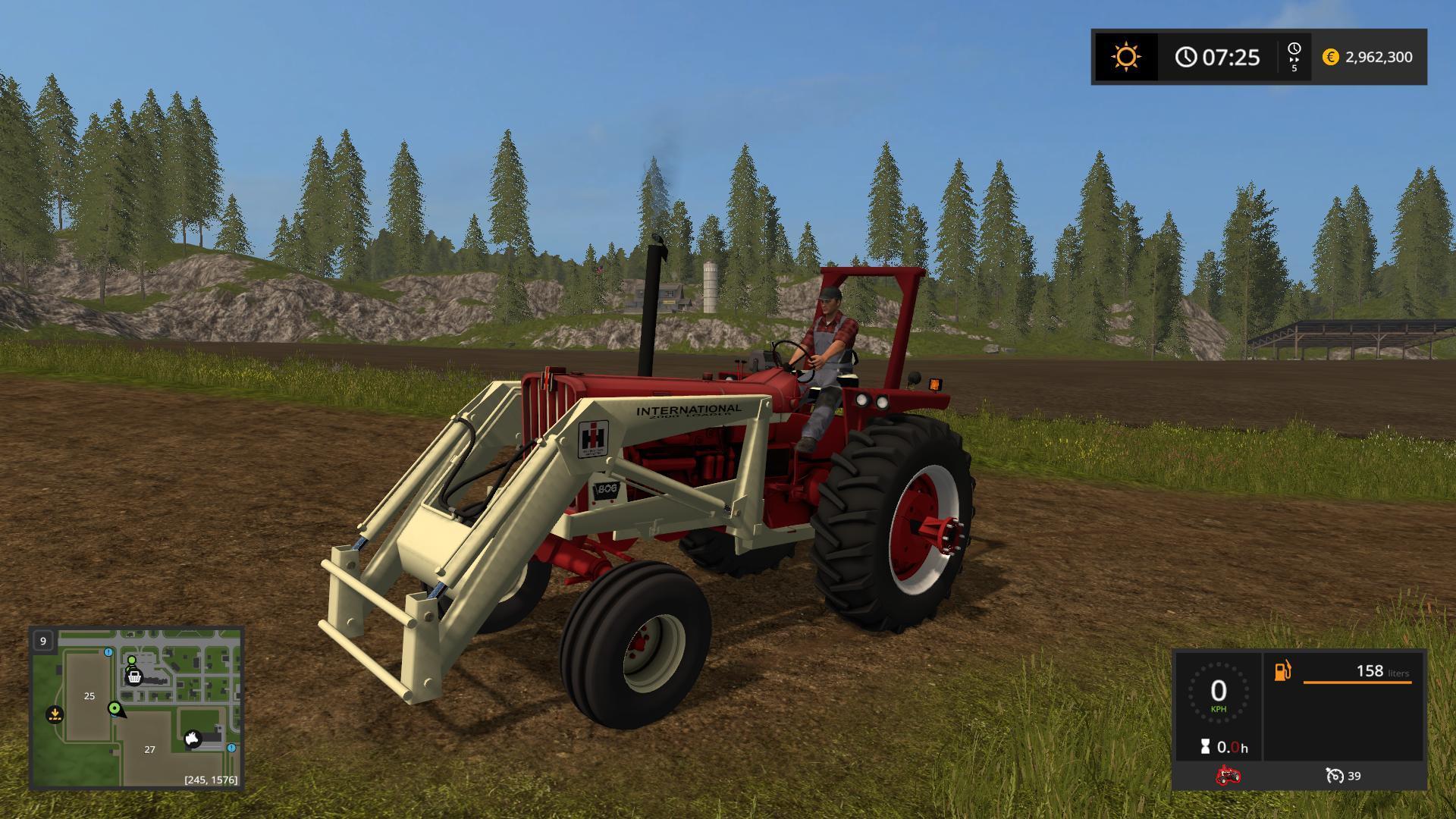 International Tractor Mods : Old iron farmall tractors v fs farming
