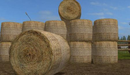 Photorealistic Round Bales V10 Fs17 Farming Simulator 17 Mod Fs - Bales