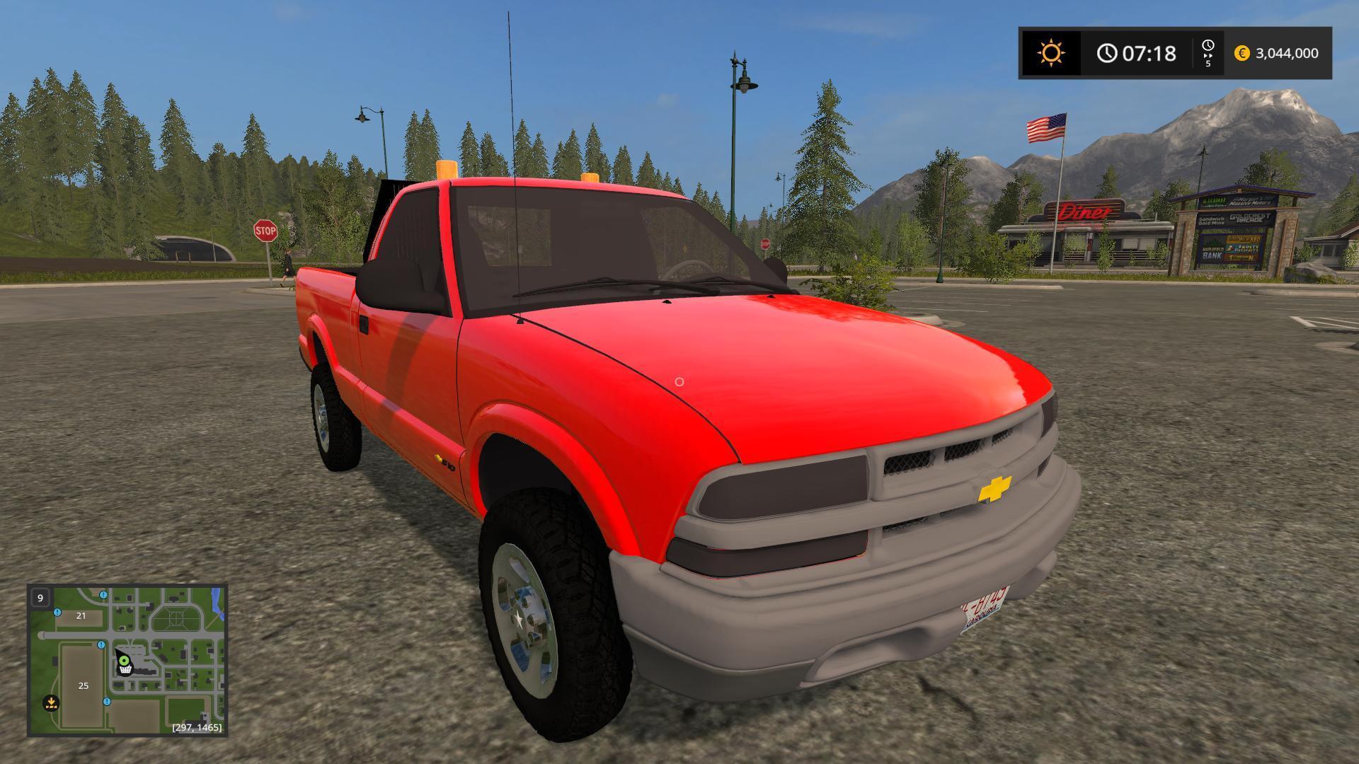 2017 Chevy S10 >> Chevy S10 Pickup Truck V1 0 Fs17 Farming Simulator 17 Mod