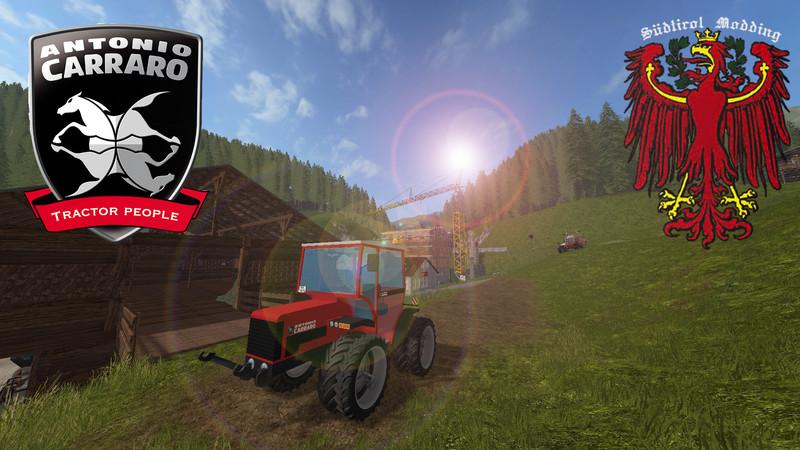 Carraro Tigrecar 3800 HST V 1 0 FS17 - Farming Simulator 17