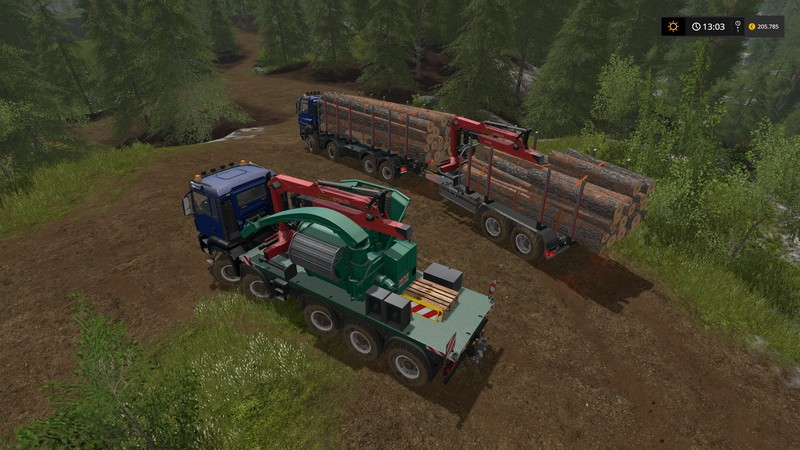 Forest extension for the MAN TGS 6x / 8x / 10x AR pack V 2 1 FS17