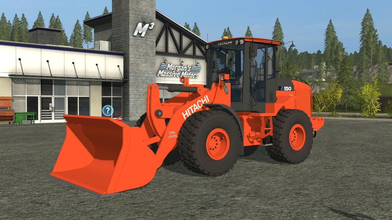 Hitachi zw150 v1 0 fs17 farming simulator 17 mod fs for Yamaha mox8 specs