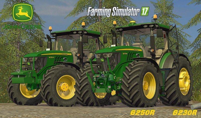 JOHN DEERE 6250R FULL FINAL EDITION V4 0 FS17 - Farming