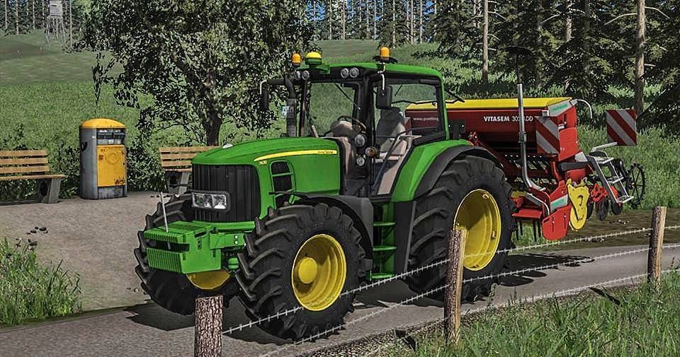 JOHN DEERE 7430/7530 PREMIUM FS17 - Farming Simulator 17 mod