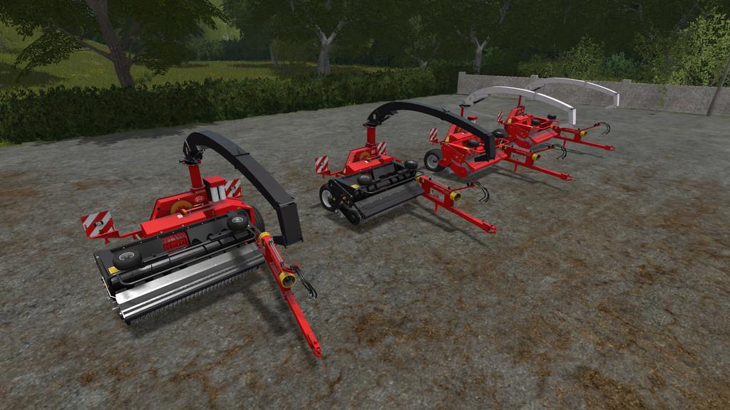 Lely P300 Silage Harvester FS17 - Farming Simulator 17 mod