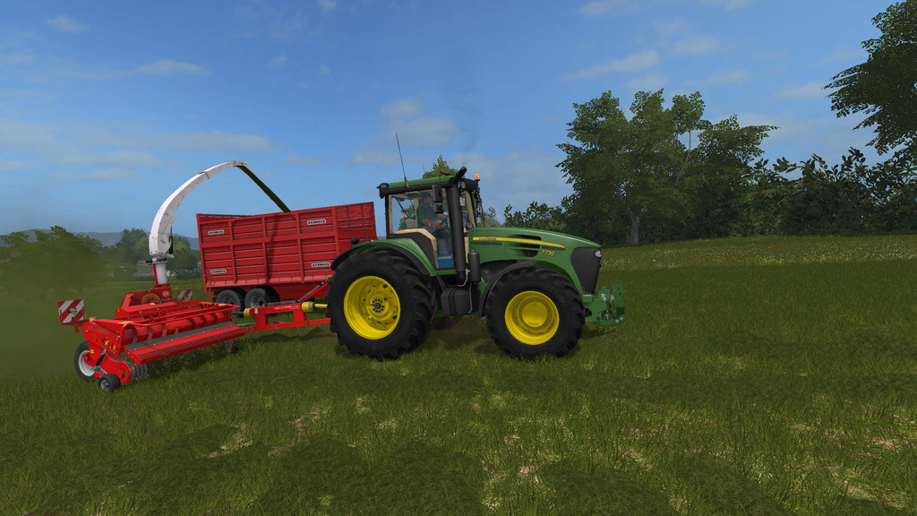 Lely P300 Silage Harvester FS17 - Farming Simulator 17 mod