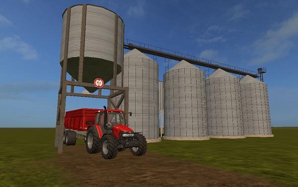 silo grain fs17 farming simulator 17 mod fs 2017 mod. Black Bedroom Furniture Sets. Home Design Ideas