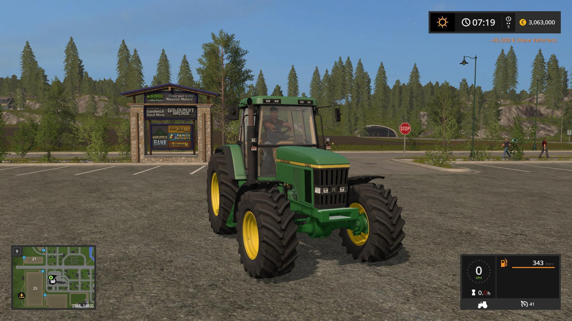 JOHN DEERE 7010 SERIES V1.0 FS17 - Farming Simulator 17 mod / FS ...