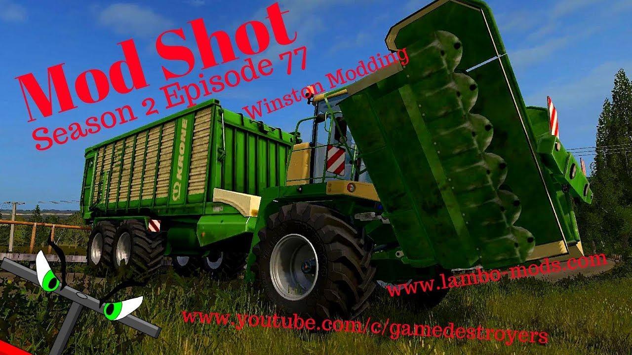 KRONE BIG L-500 PRO MOWER V1.0 FS17 - Farming Simulator 17 ...
