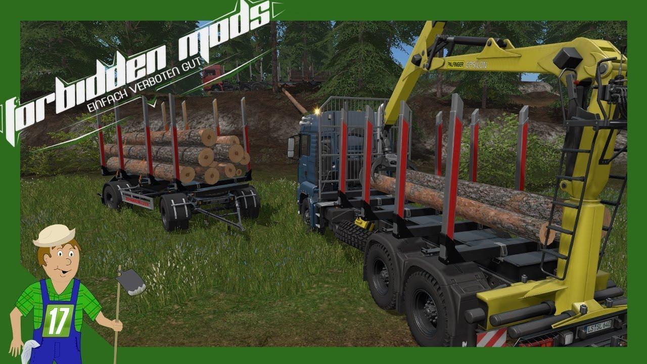 MAN FOREST PACK V1 0 0 0 FS17 - Farming Simulator 17 mod