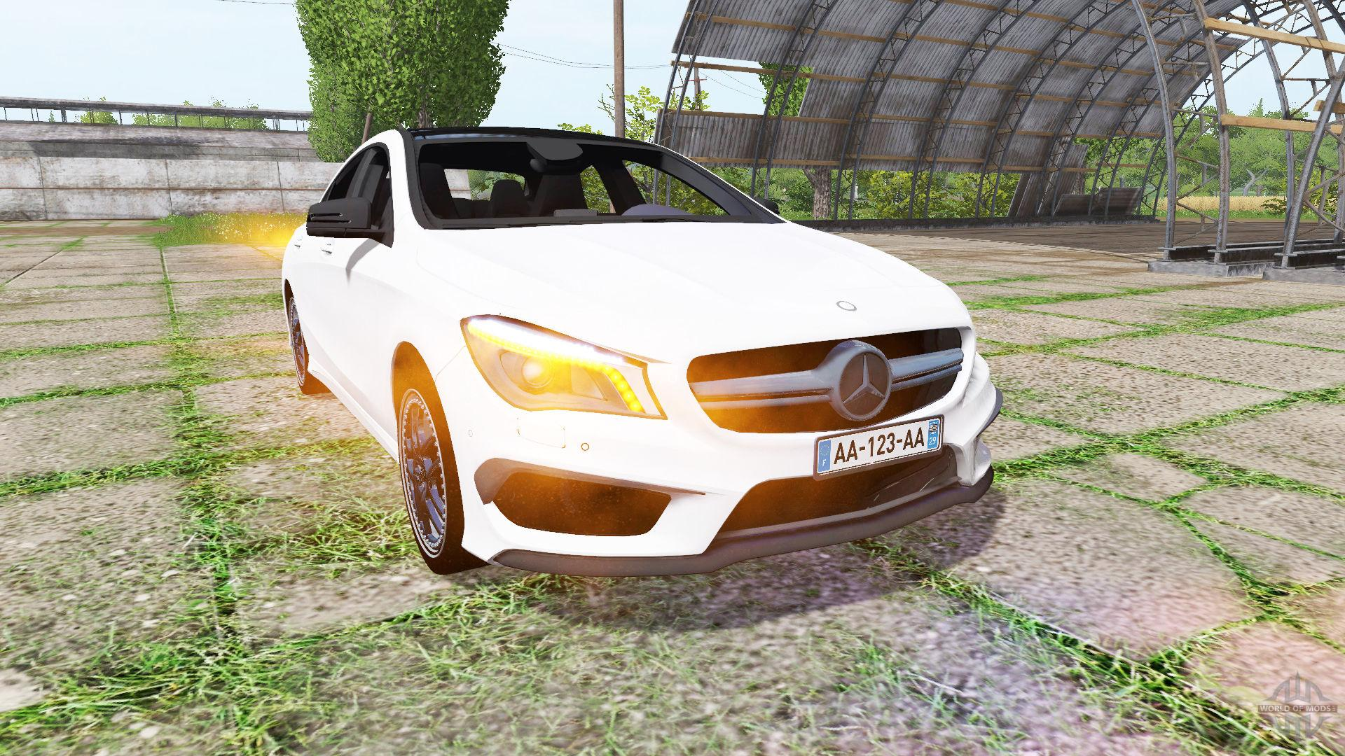 Mercedes benz cla 45 amg c117 fs17 farming simulator for Mercedes benz cla vs c class