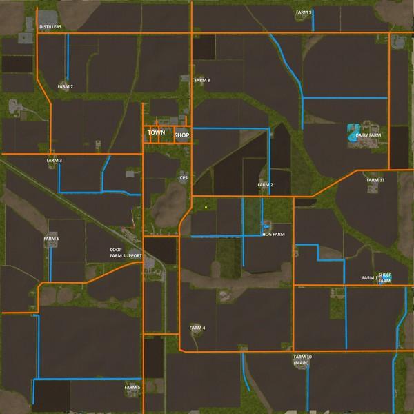 Mills County By Blueweb V 1.0 FS17