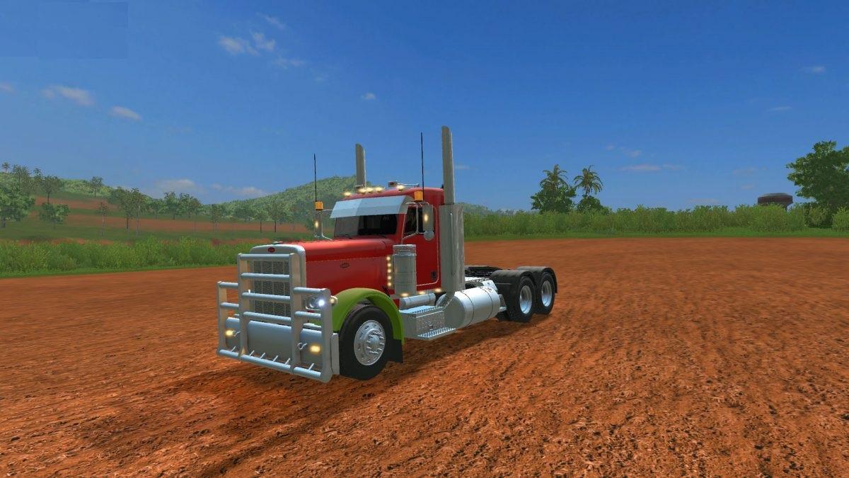 PETERBILT 389 DAY CAB MULTICOLOR V1 0 FS17 - Farming Simulator 17