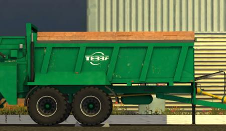 TEBBE HS 180 V 1 0 FS17 - Farming Simulator 17 mod / FS 2017 mod