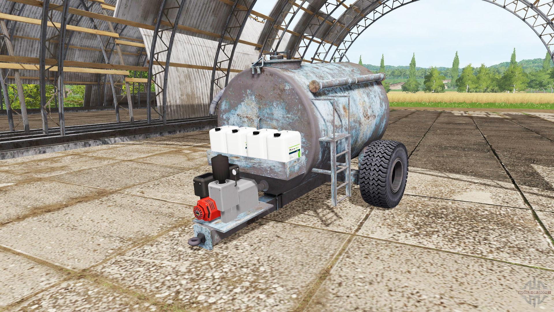 Water Tank Trailer >> WATER TRAILER FS17 - Farming Simulator 17 mod / FS 2017 mod