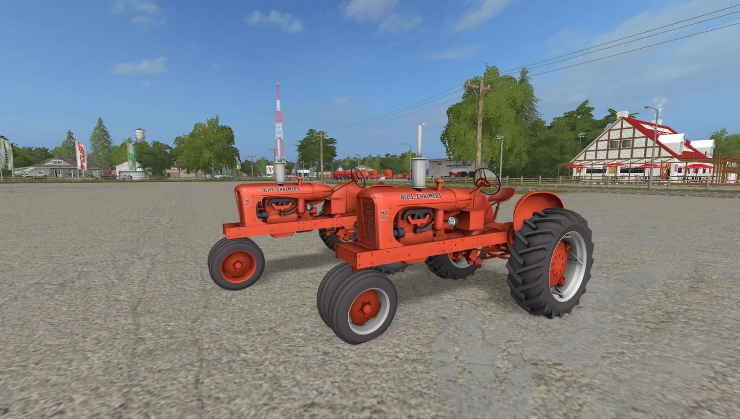 ALLIS CHALMERS WD45 V1 0 FS17 - Farming Simulator 17 mod