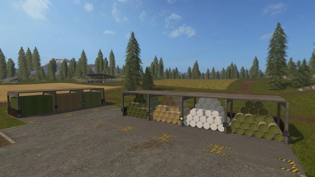 Bale Storage V1 0 0 0 Fs17 Farming Simulator 17 Mod Fs
