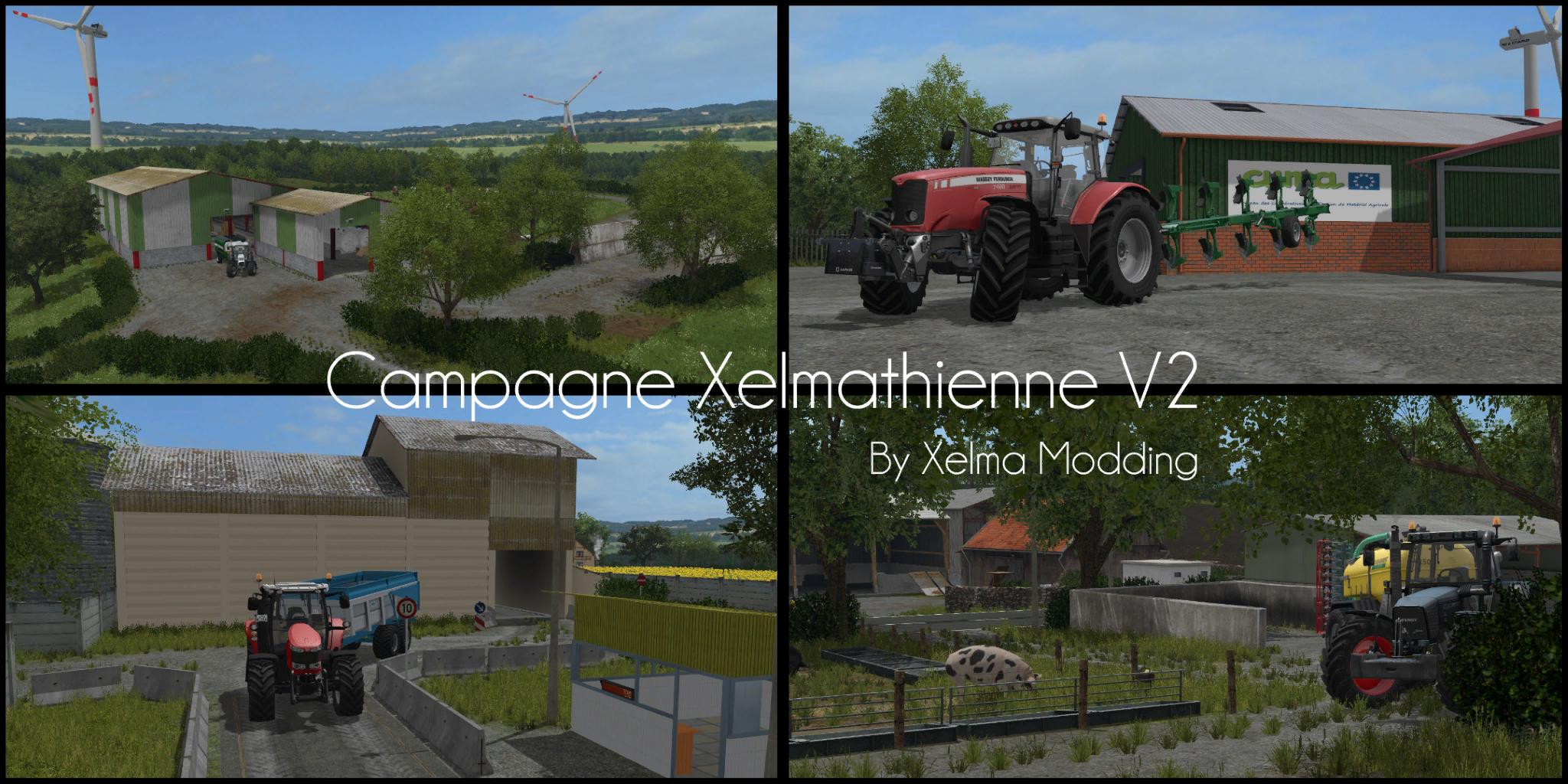 campagne xelmathienne v2 1 fs17 farming simulator 17 mod fs 2017 mod. Black Bedroom Furniture Sets. Home Design Ideas