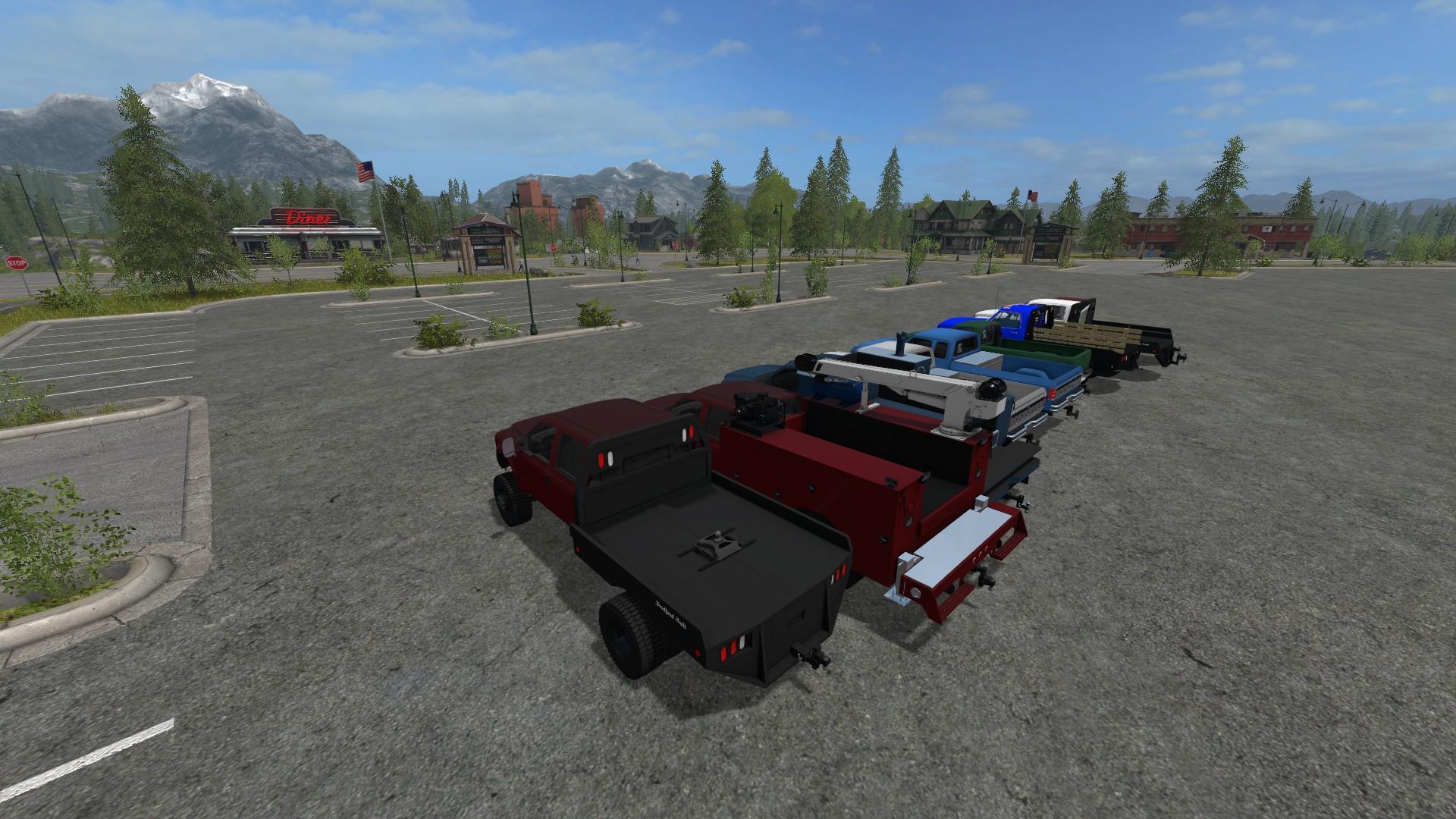 2017 Dodge Dually >> DODGE FORD PACK V1.0 FS17 - Farming Simulator 17 mod / FS 2017 mod