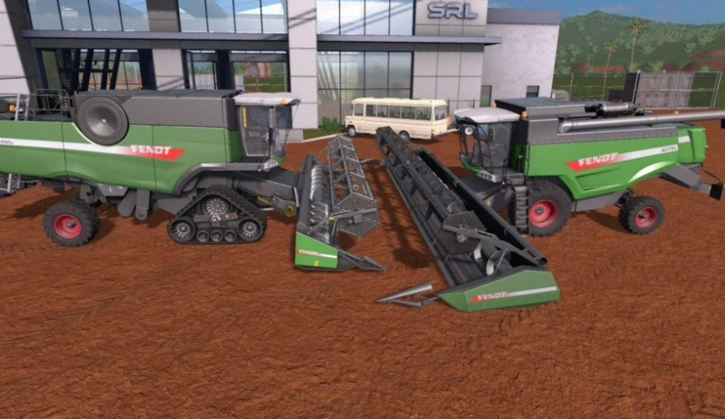 FENDT HARVESTERS PACK FINAL FS17 - Farming Simulator 17 mod / FS