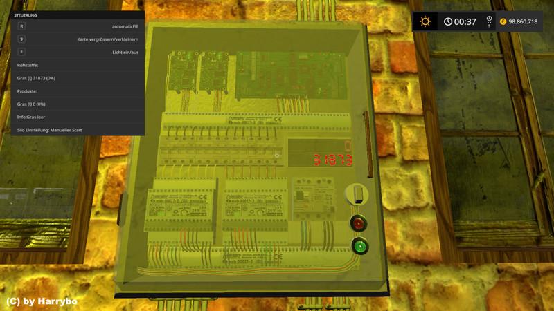 Grass & Straw Storage V 1 0 FS17 - Farming Simulator 17 mod
