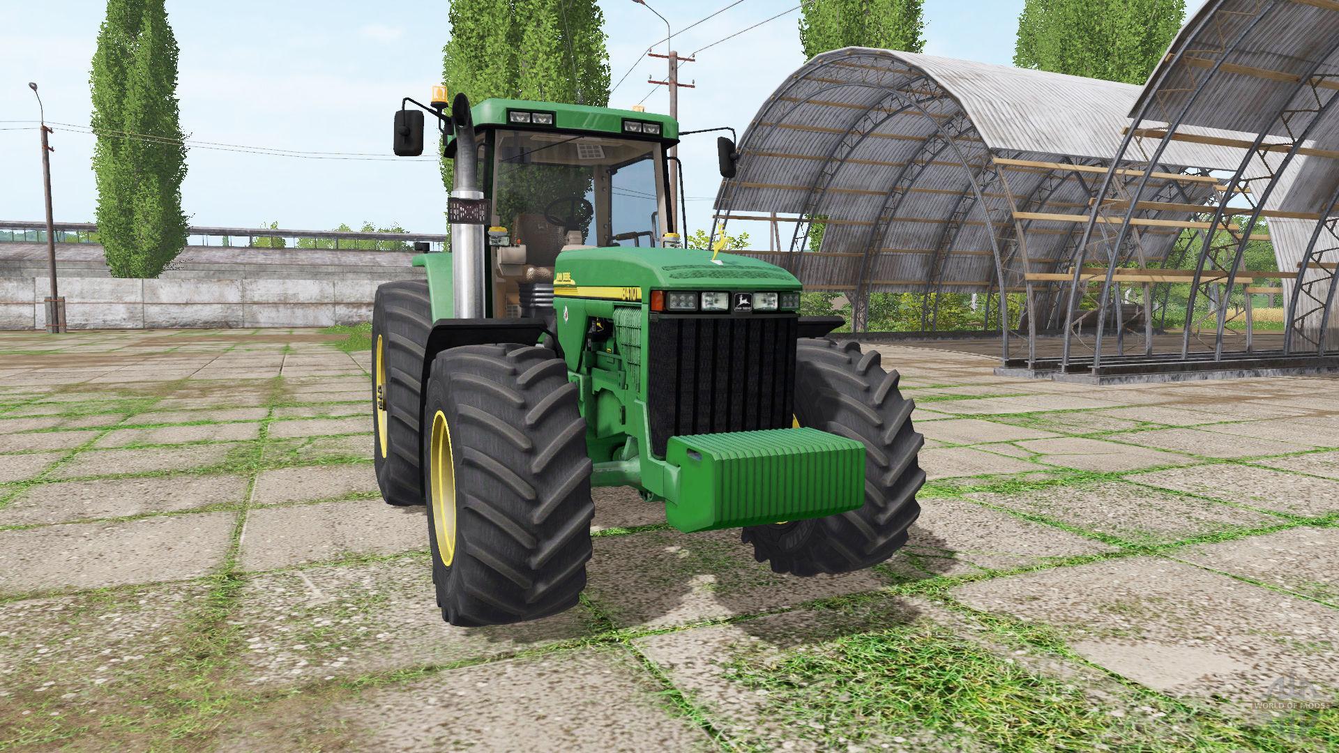 John Deere 8410 V3 3 6 9 Fs17 Farming Simulator 17 Mod