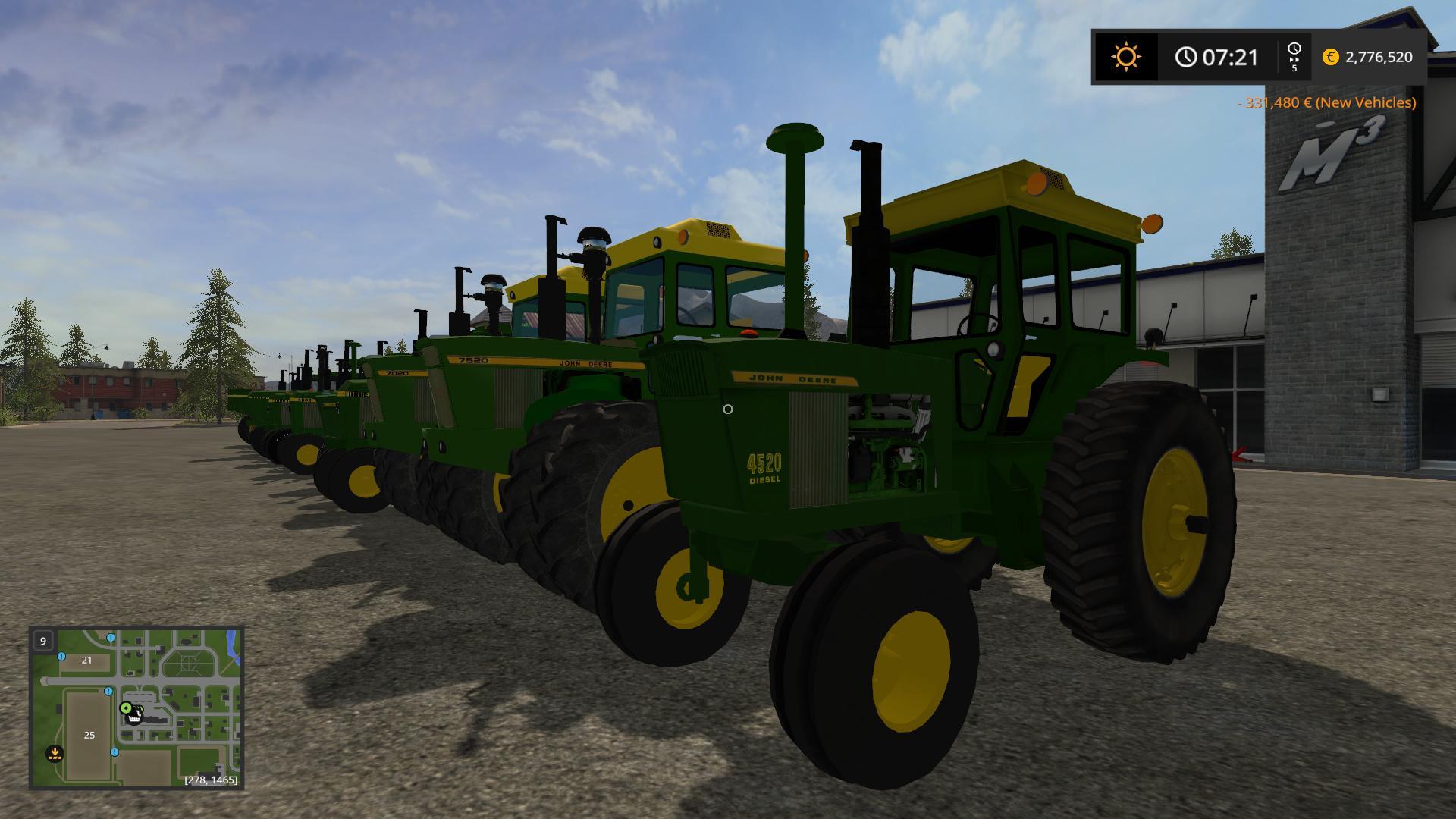 JOHN DEERE OLD SERIES V1 0 0 FS17 - Farming Simulator 17 mod / FS