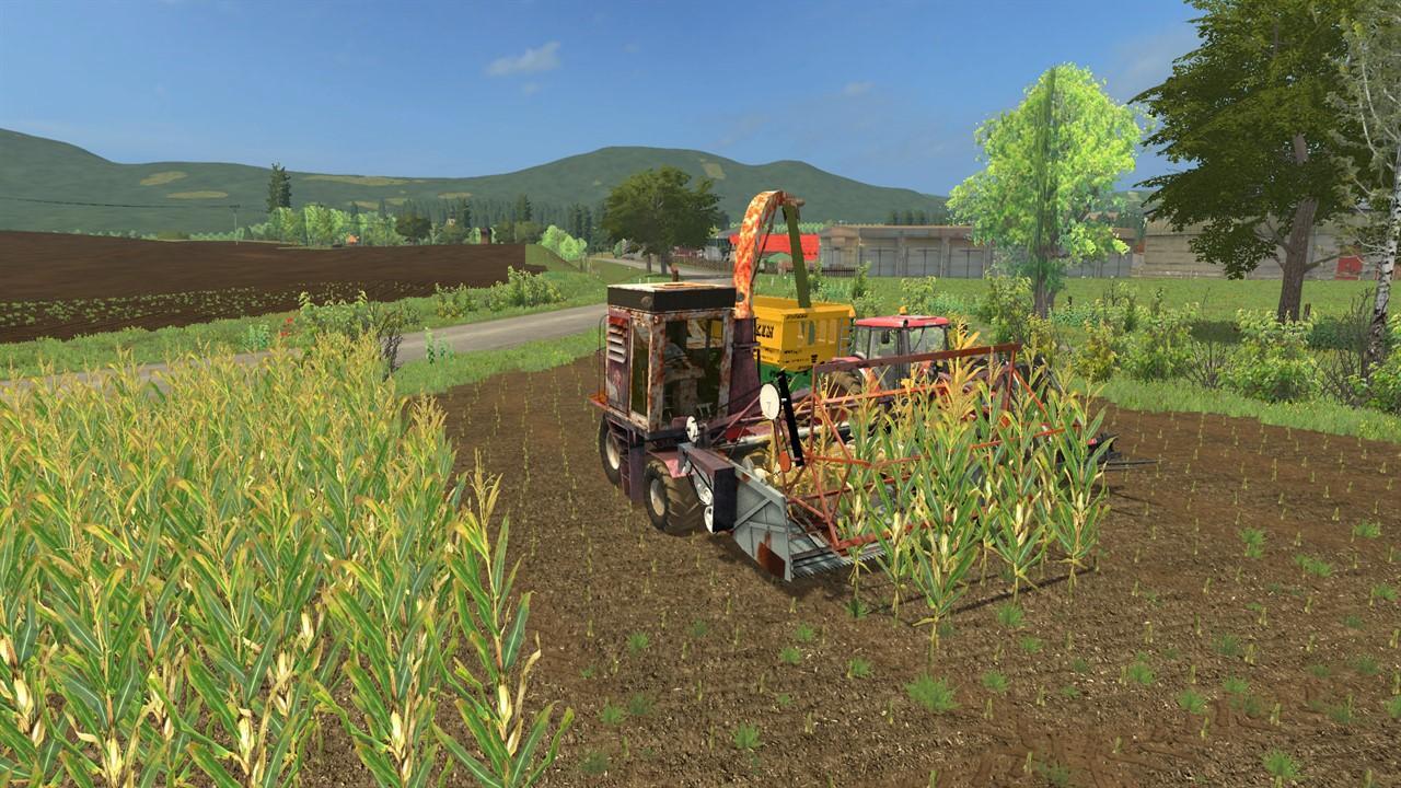 KSK-100 FORAGE HARVESTER V1 0 FS17 - Farming Simulator 17
