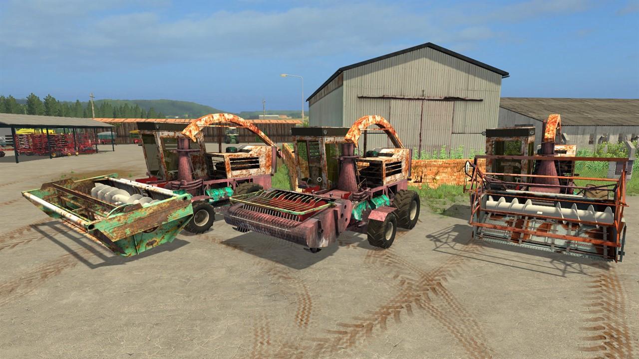 KSK-100 FORAGE HARVESTER V1 0 FS17 - Farming Simulator 17 mod / FS